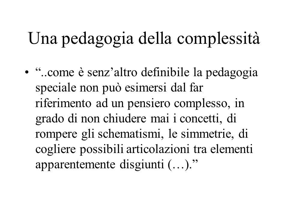 Una pedagogia della complessità
