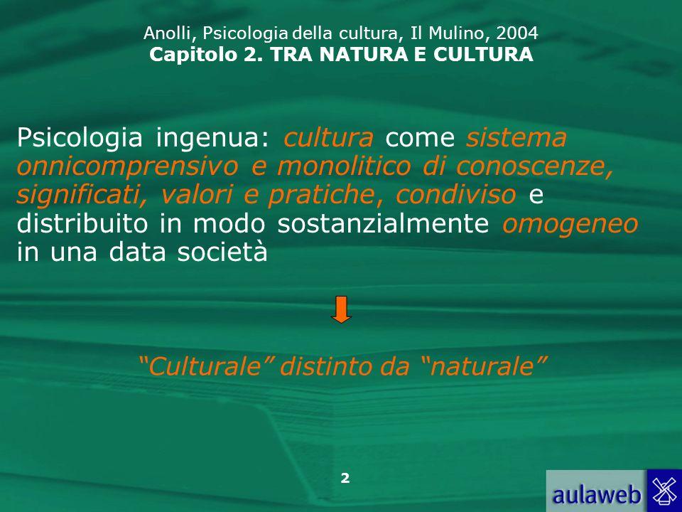 Culturale distinto da naturale