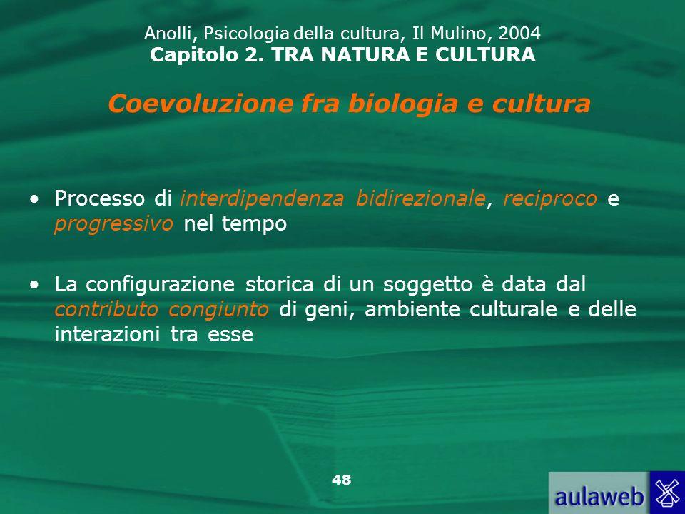 Coevoluzione fra biologia e cultura