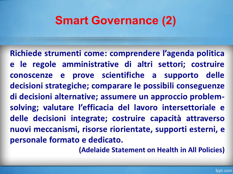 Smart Governance (2)