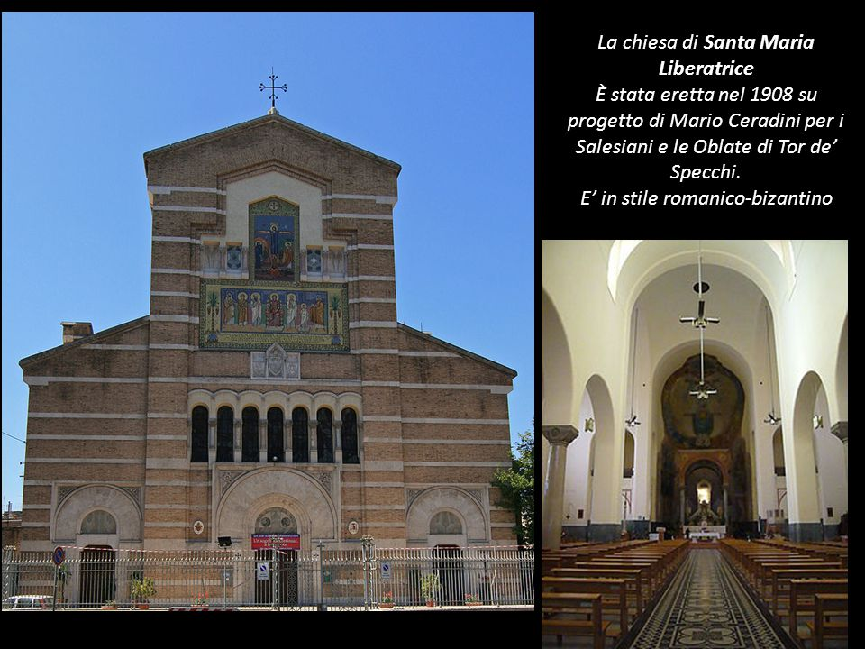 La chiesa di Santa Maria Liberatrice