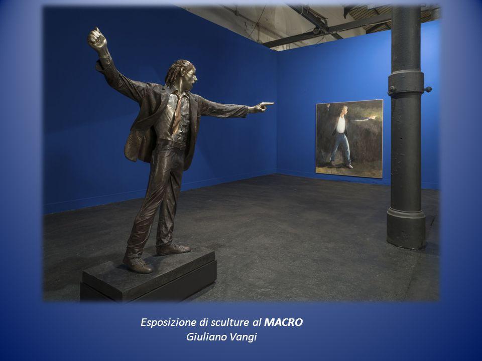 Esposizione di sculture al MACRO