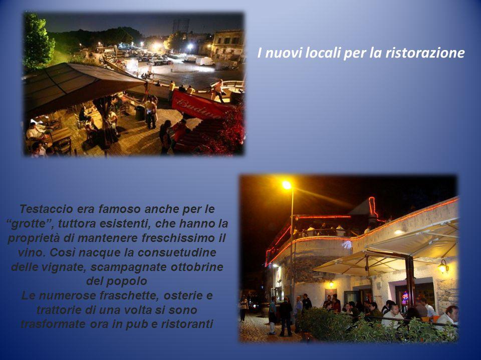 I nuovi locali per la ristorazione
