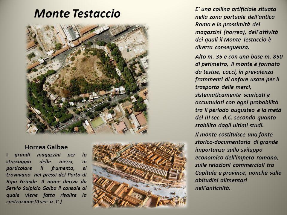 Monte Testaccio Horrea Galbae