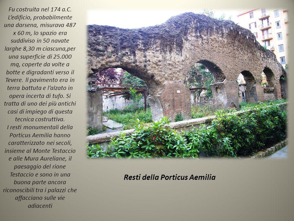 Resti della Porticus Aemilia