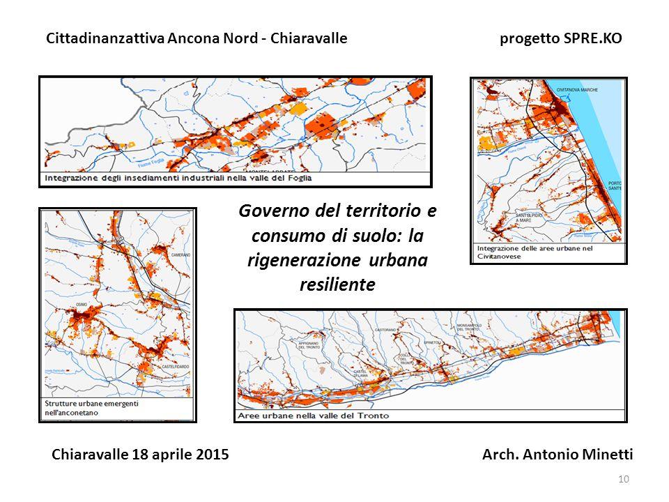 Cittadinanza attiva-Chiaravalle progetto SPRE.KO