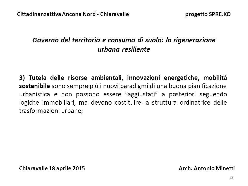 Cittadinanzattiva Ancona Nord - Chiaravalle progetto SPRE.KO