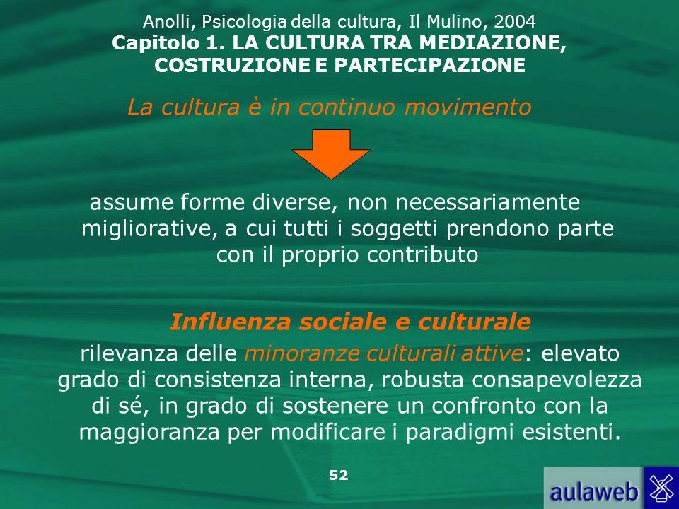 Influenza sociale e culturale