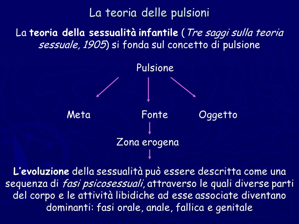 La teoria delle pulsioni