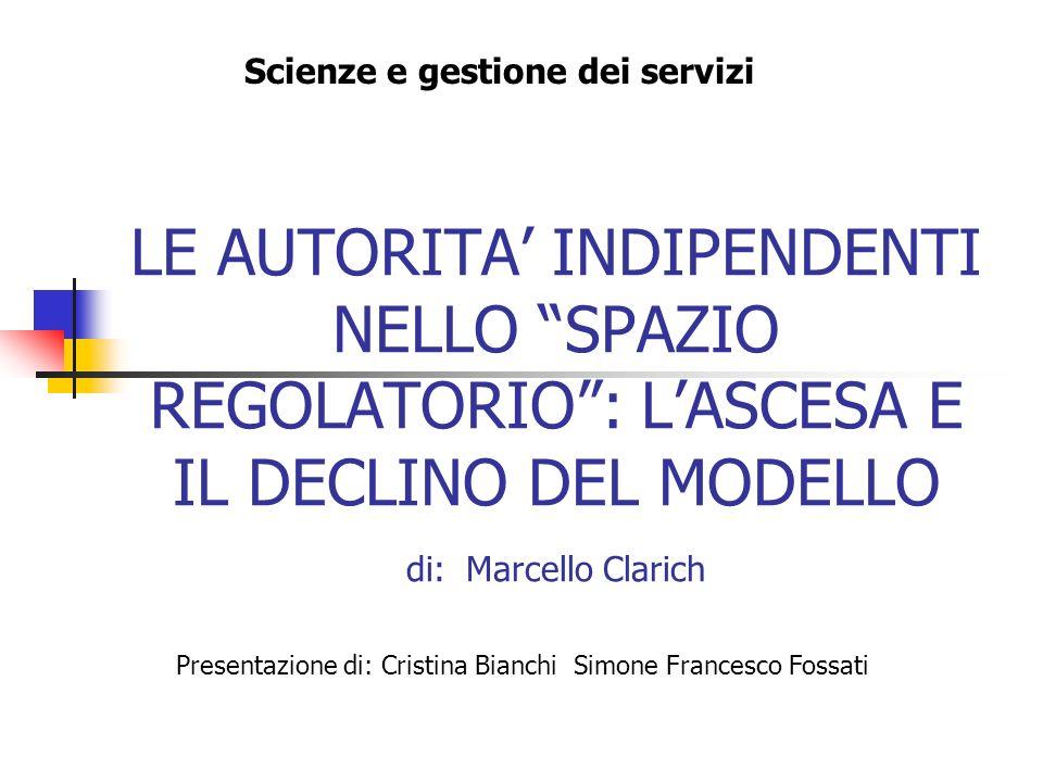 Scienze e gestione dei servizi