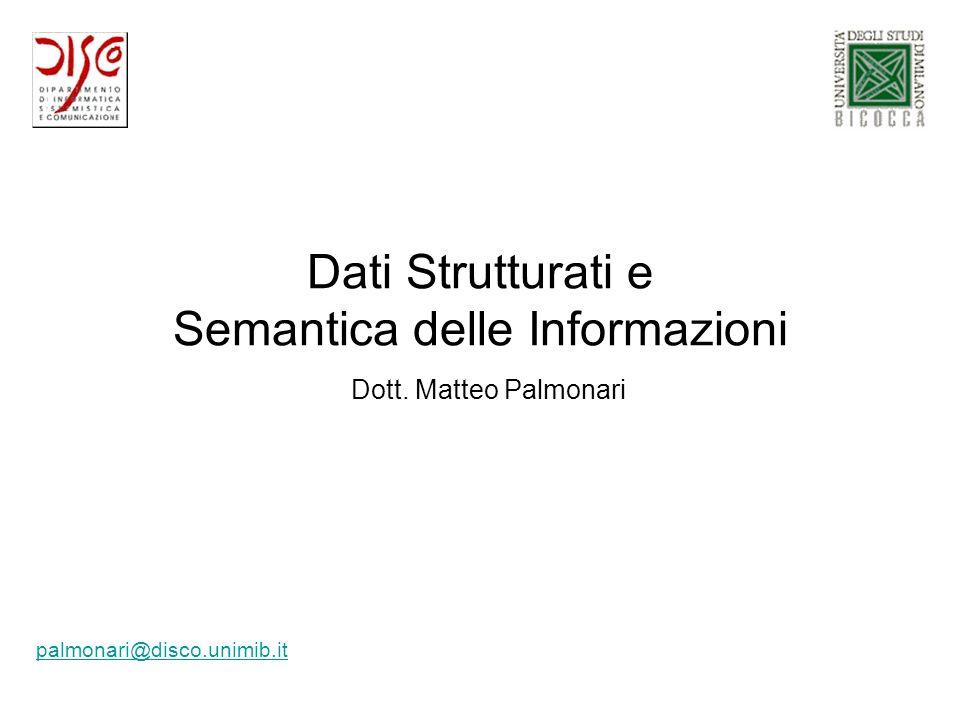 Semantica delle Informazioni