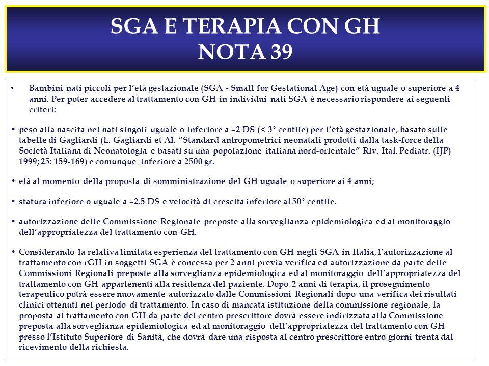 SGA E TERAPIA CON GH NOTA 39