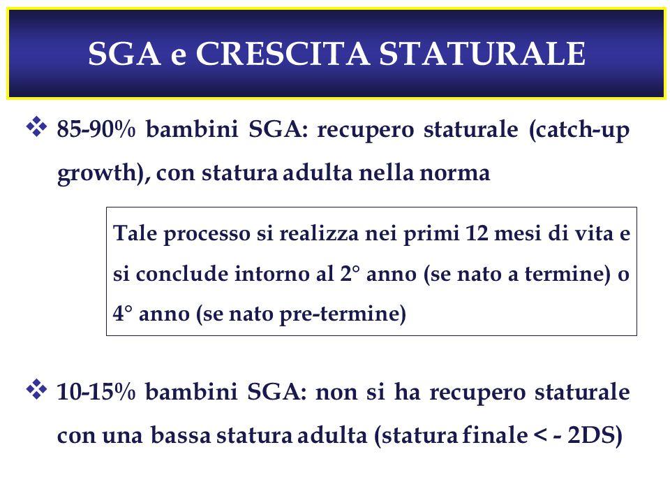 SGA e CRESCITA STATURALE