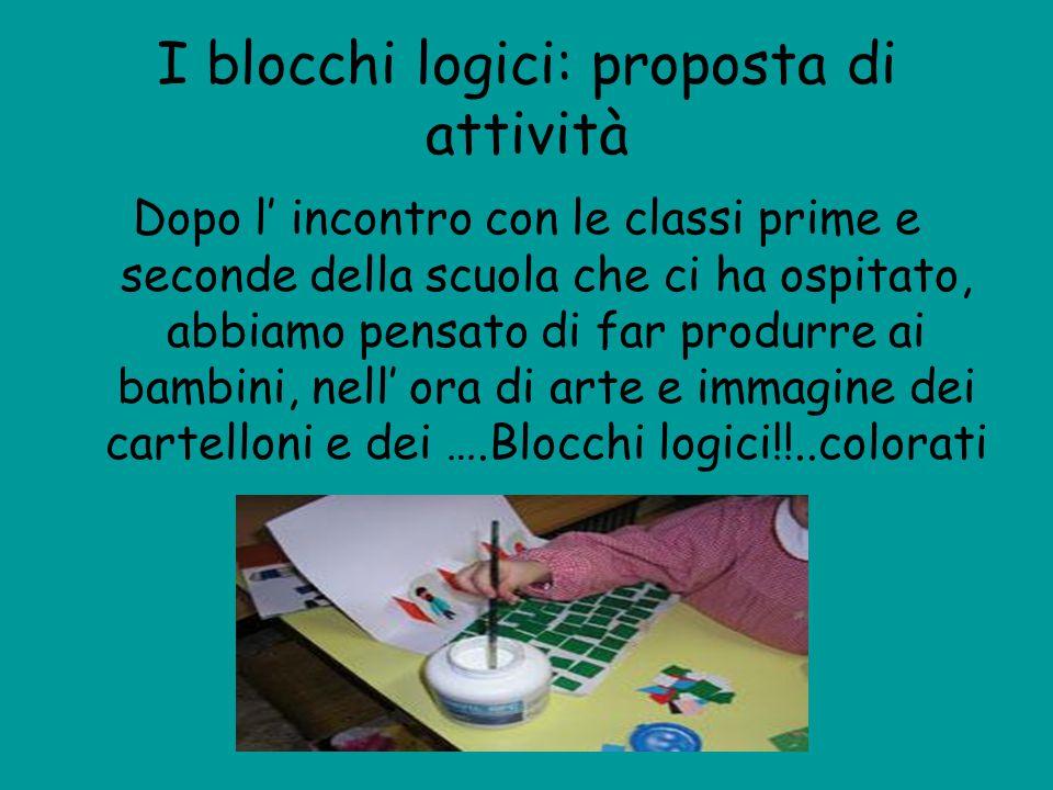 I blocchi logici: proposta di attività