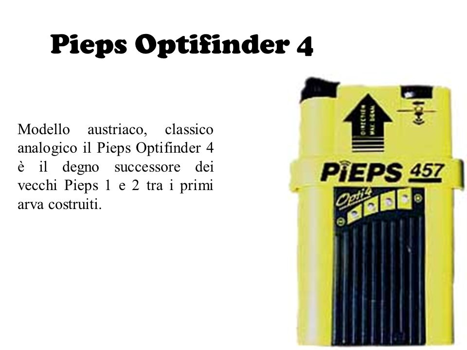 Pieps Optifinder 4