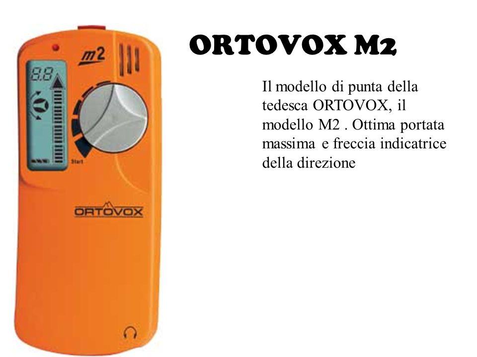 ORTOVOX M2 Il modello di punta della tedesca ORTOVOX, il modello M2 .
