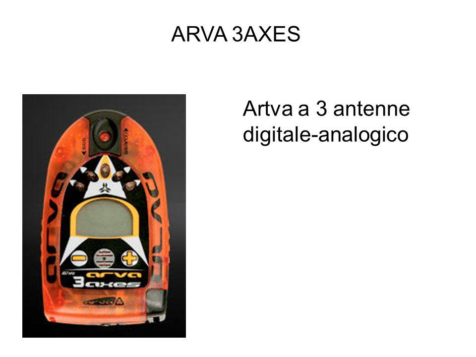 ARVA 3AXES Artva a 3 antenne digitale-analogico