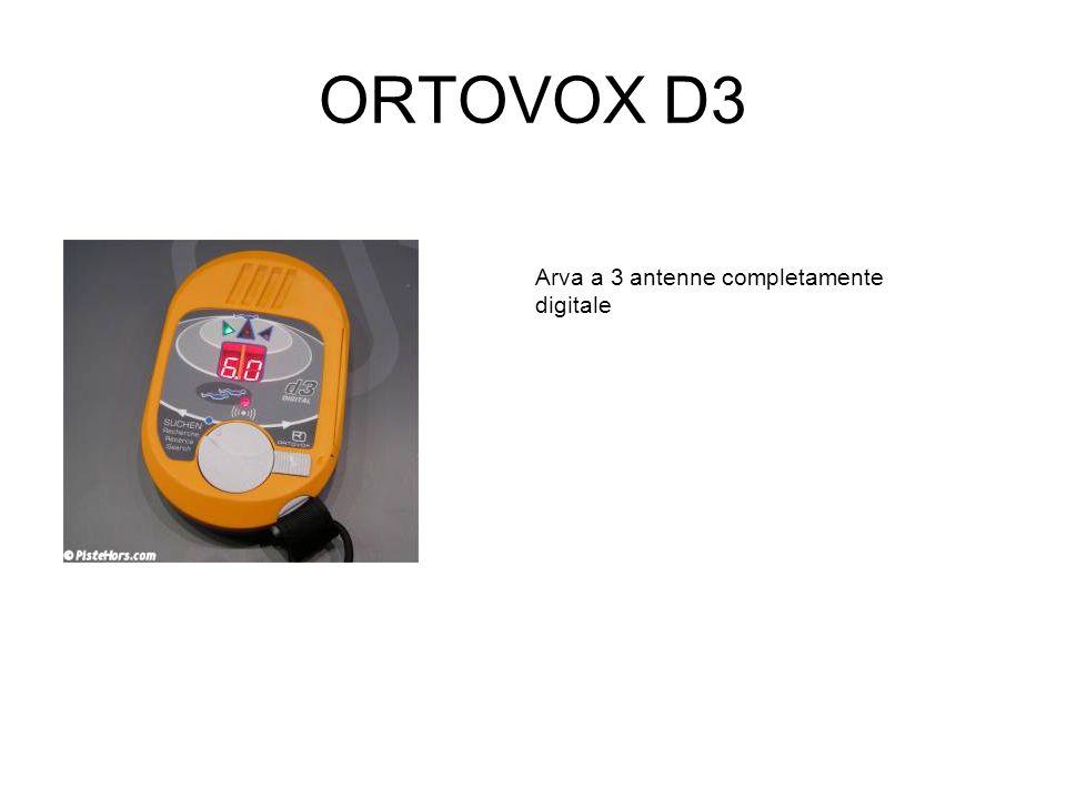 ORTOVOX D3 Arva a 3 antenne completamente digitale