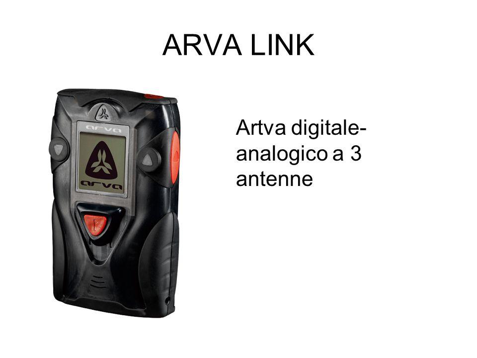 ARVA LINK Artva digitale-analogico a 3 antenne