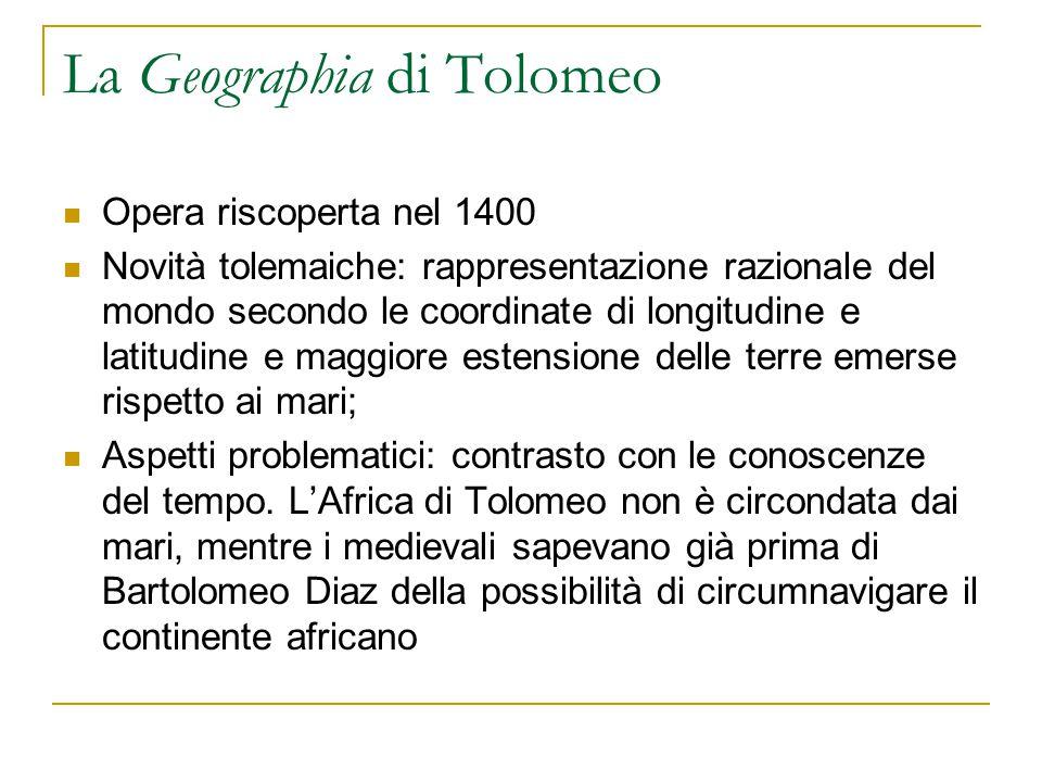 La Geographia di Tolomeo