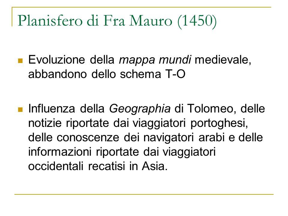 Planisfero di Fra Mauro (1450)