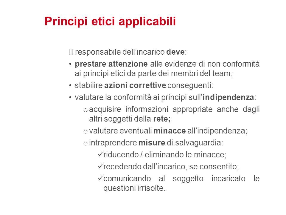 Principi etici applicabili