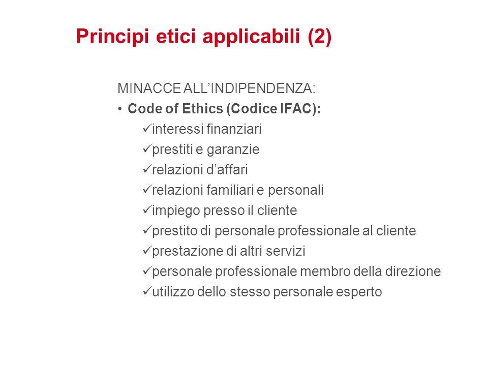 Principi etici applicabili (2)
