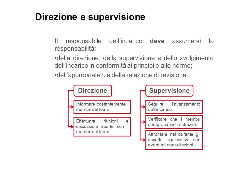 Direzione e supervisione