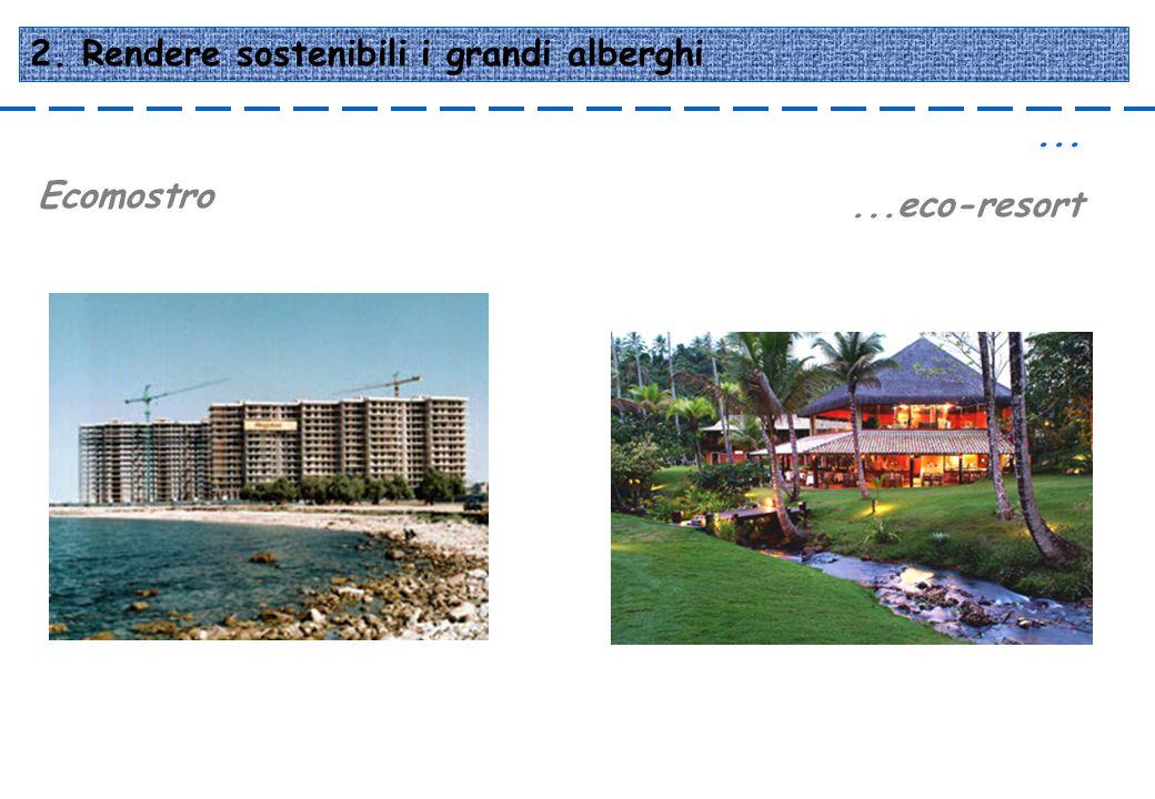 2. Rendere sostenibili i grandi alberghi
