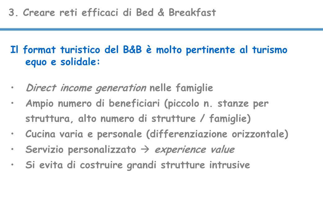 3. Creare reti efficaci di Bed & Breakfast