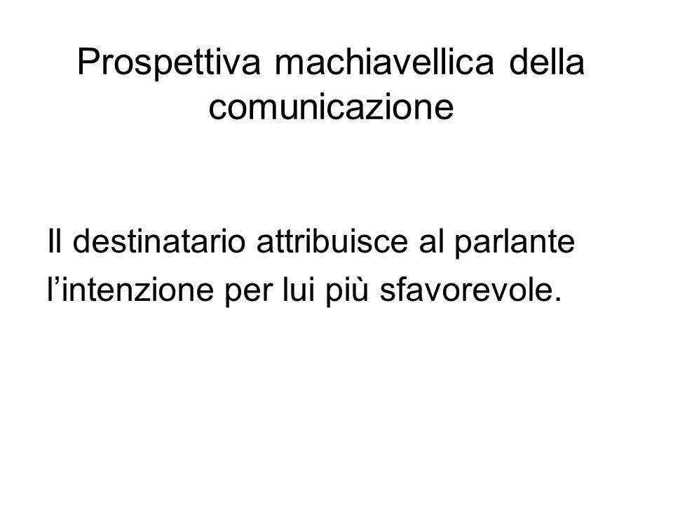 Prospettiva machiavellica della comunicazione