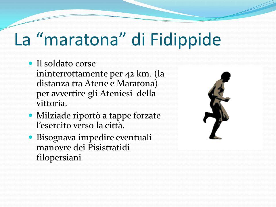 La maratona di Fidippide