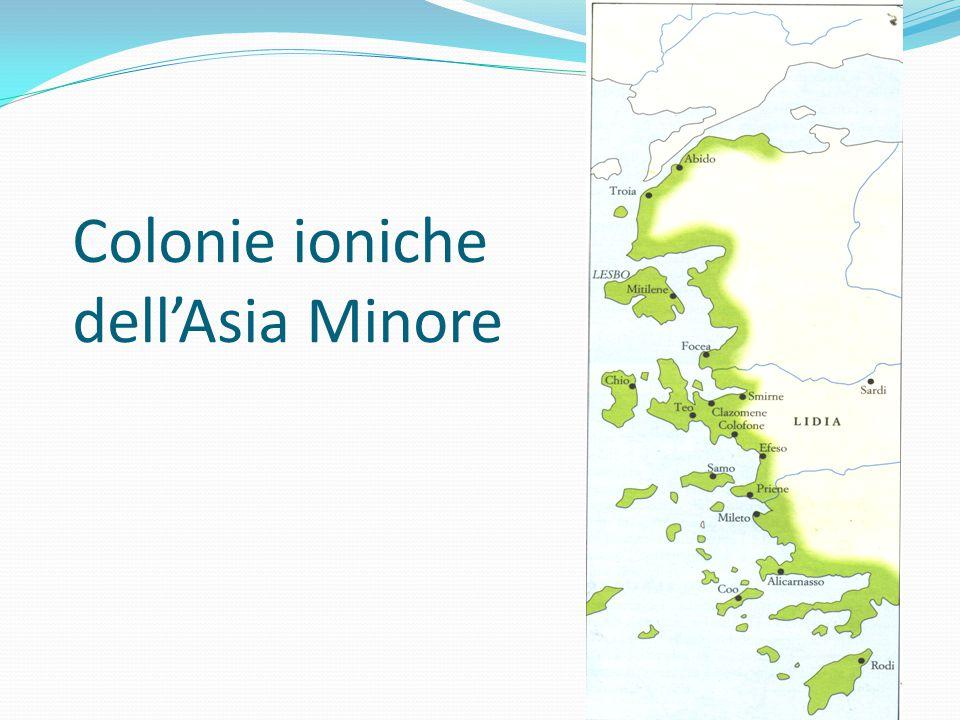 Colonie ioniche dell'Asia Minore