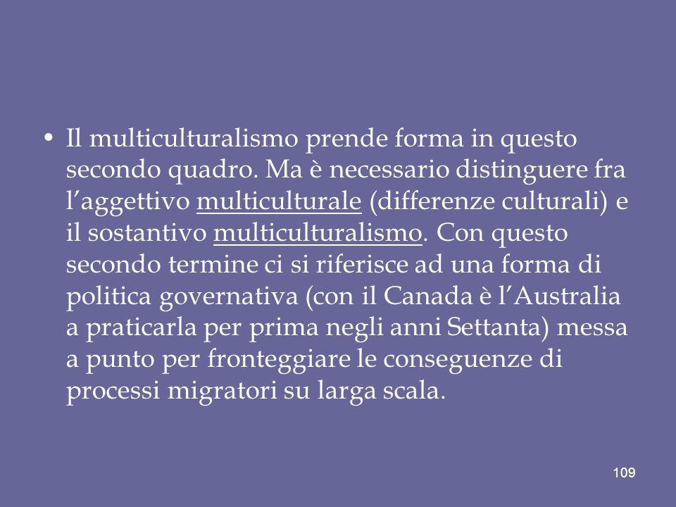 Il multiculturalismo prende forma in questo secondo quadro