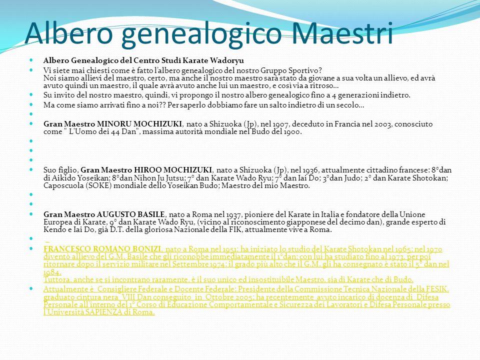 Albero genealogico Maestri