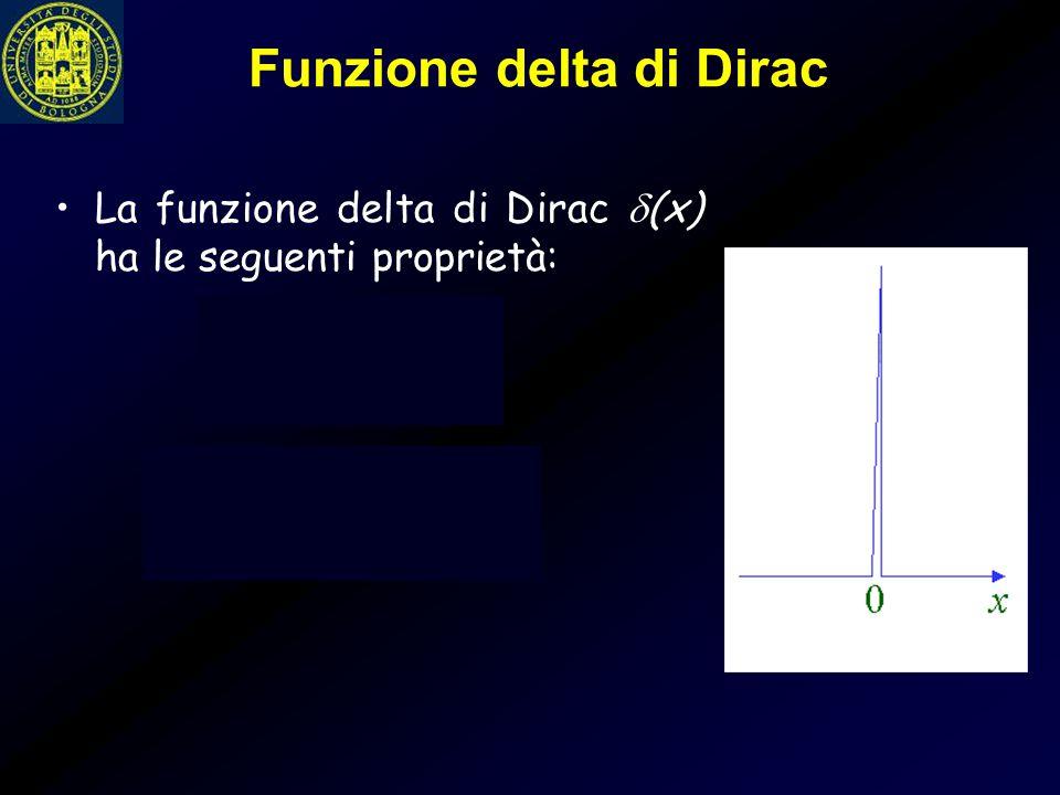 Funzione delta di Dirac