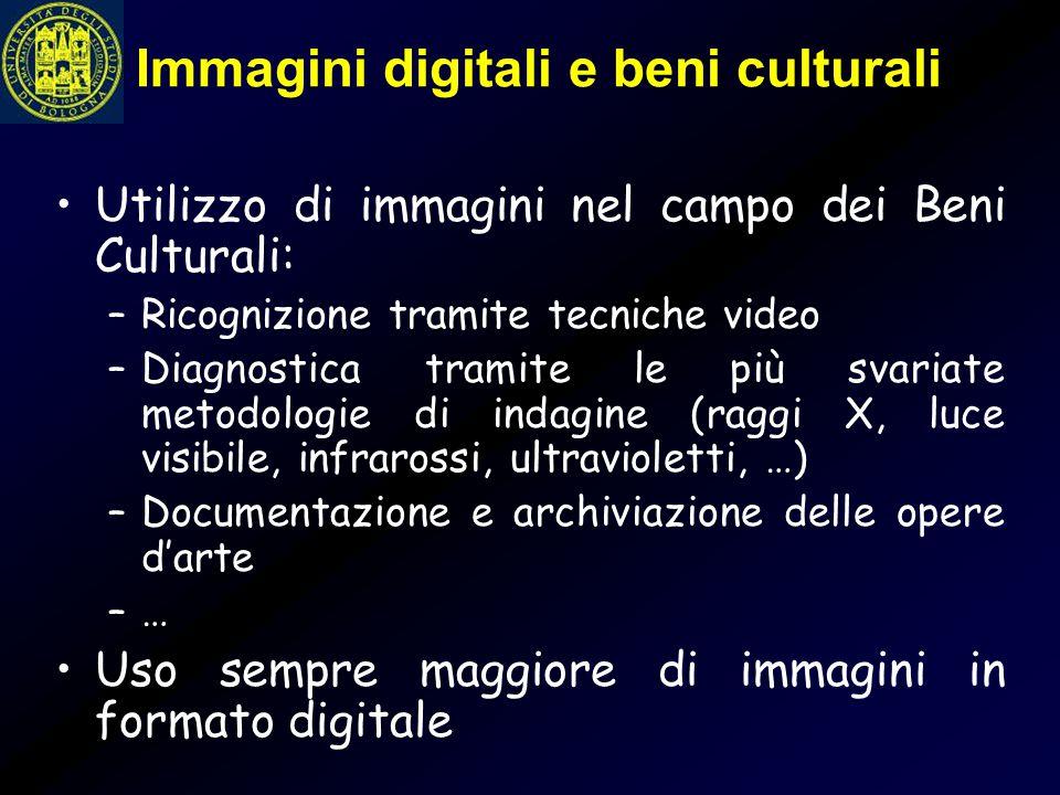 Immagini digitali e beni culturali