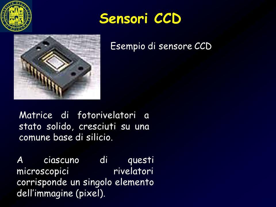 Sensori CCD Esempio di sensore CCD