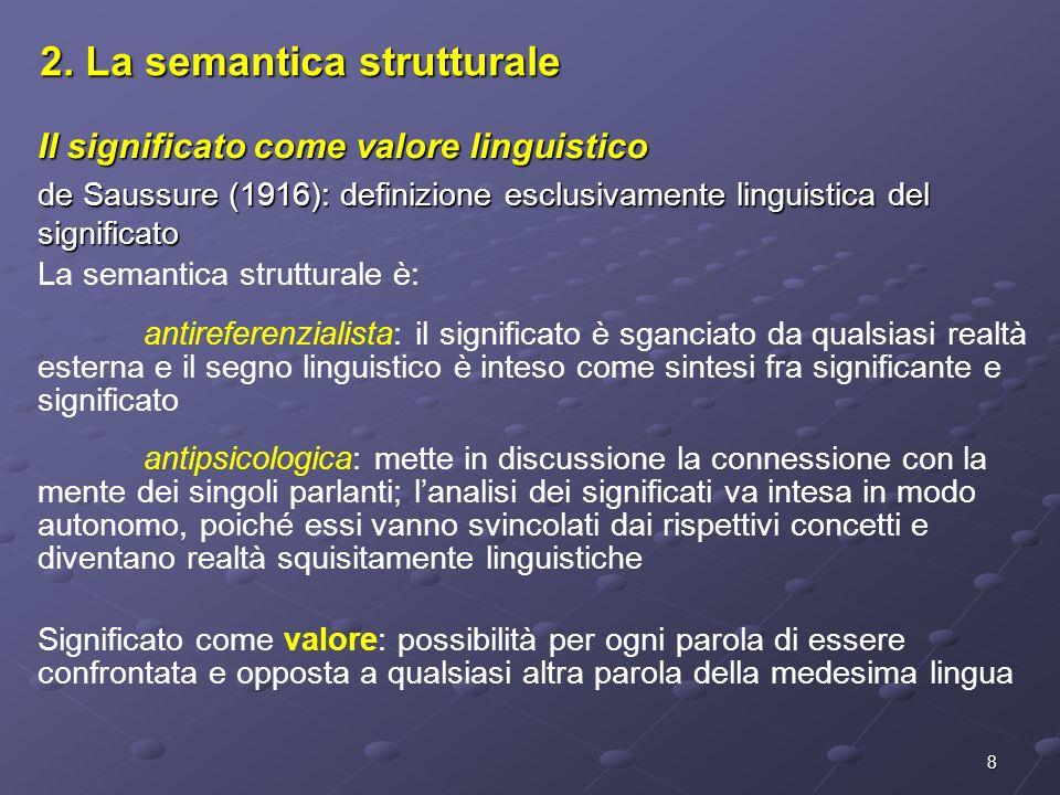 2. La semantica strutturale