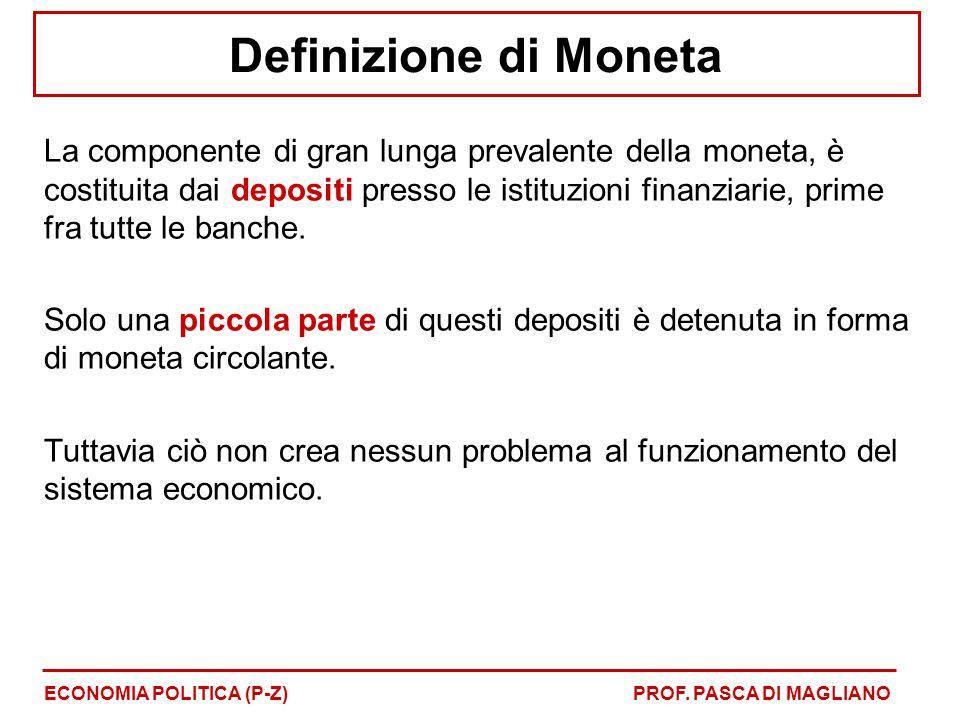 Definizione di Moneta