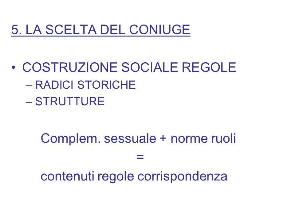 COSTRUZIONE SOCIALE REGOLE
