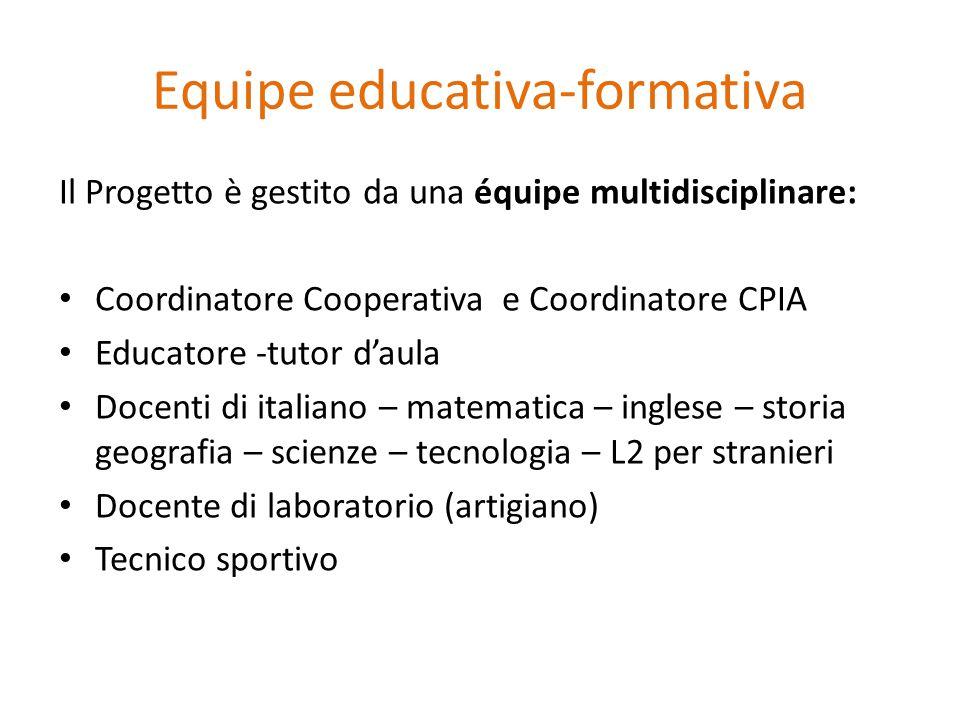 Equipe educativa-formativa