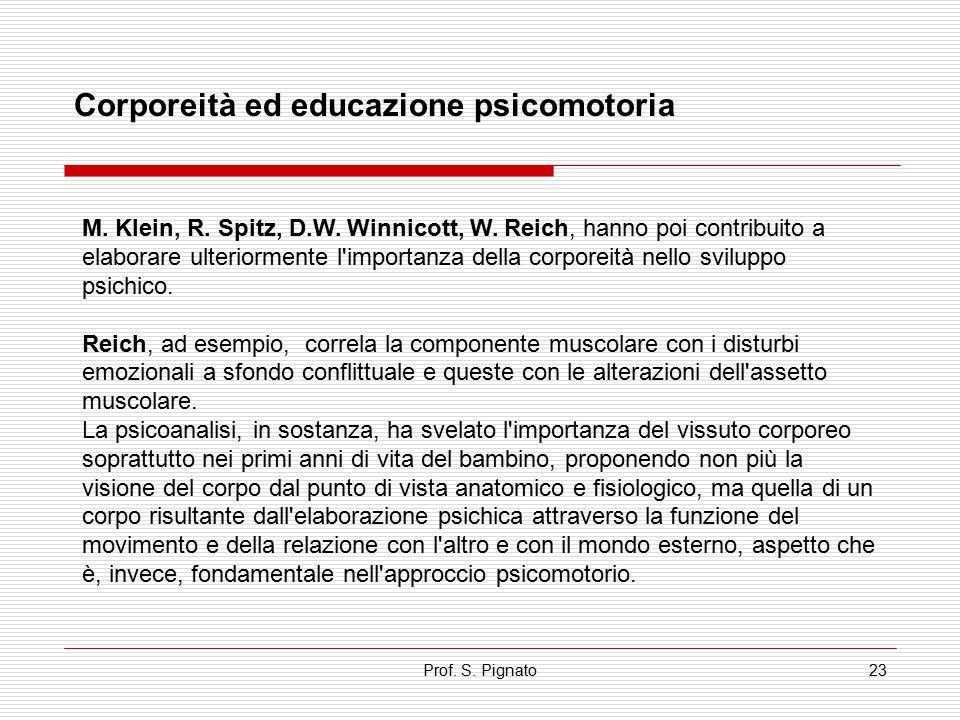 Corporeità ed educazione psicomotoria