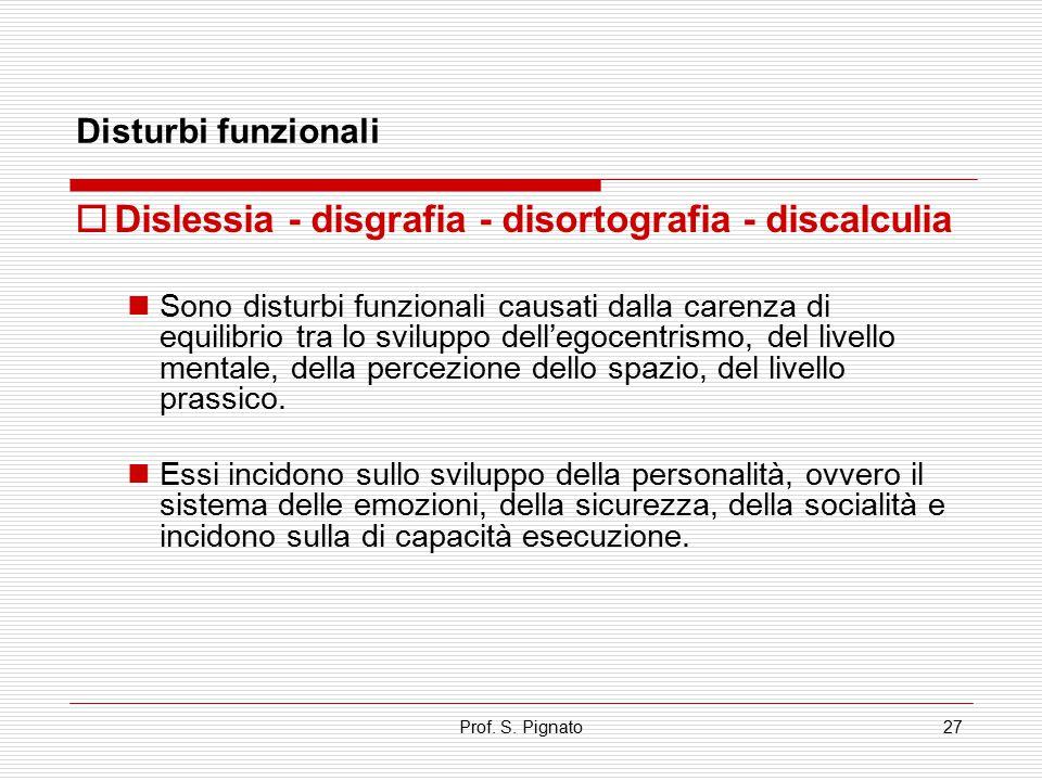 Dislessia - disgrafia - disortografia - discalculia