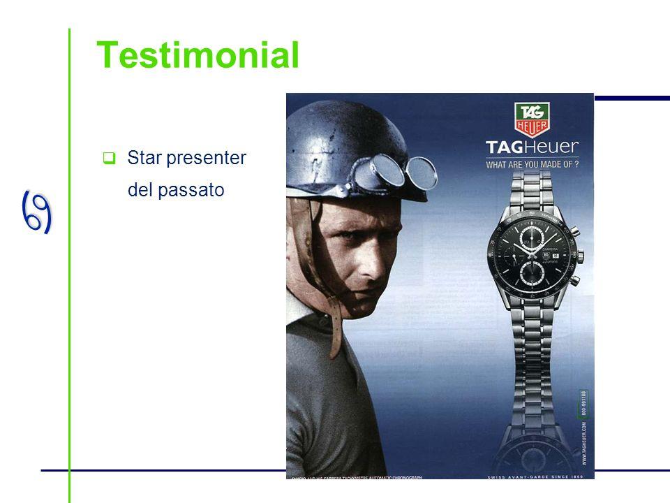 Testimonial Star presenter del passato