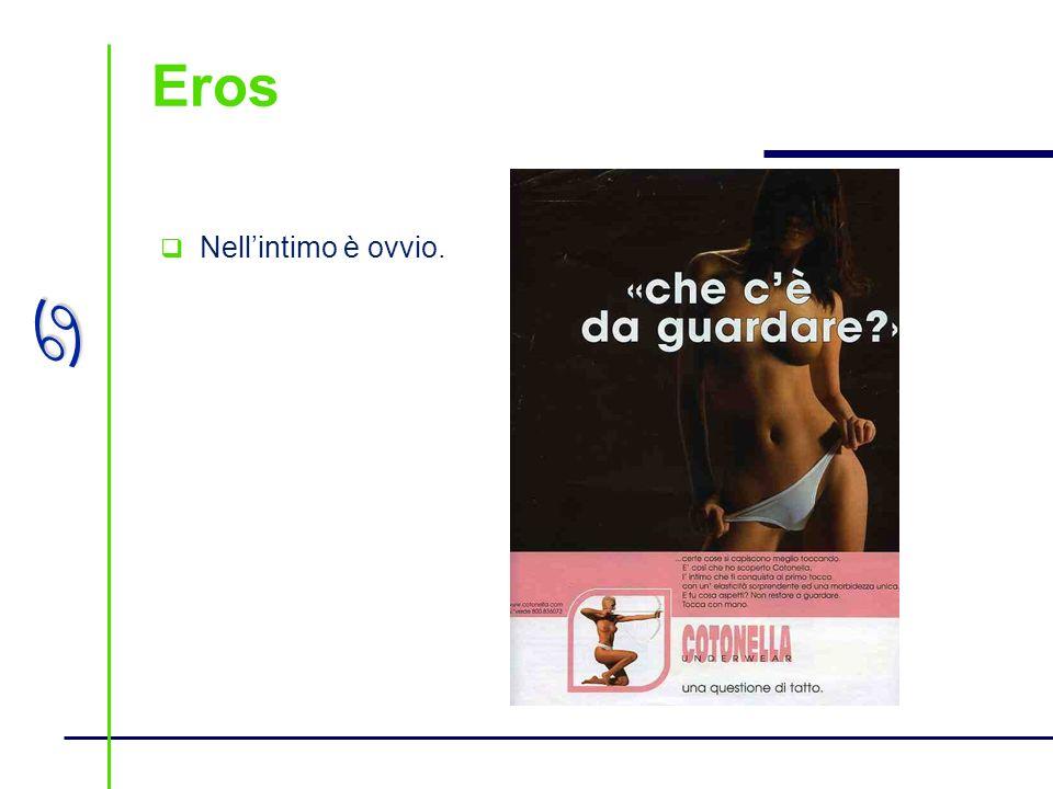 Eros Nell'intimo è ovvio.