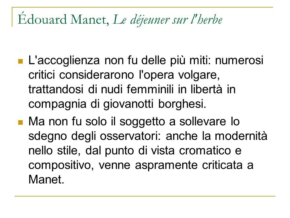 Édouard Manet, Le déjeuner sur l herbe