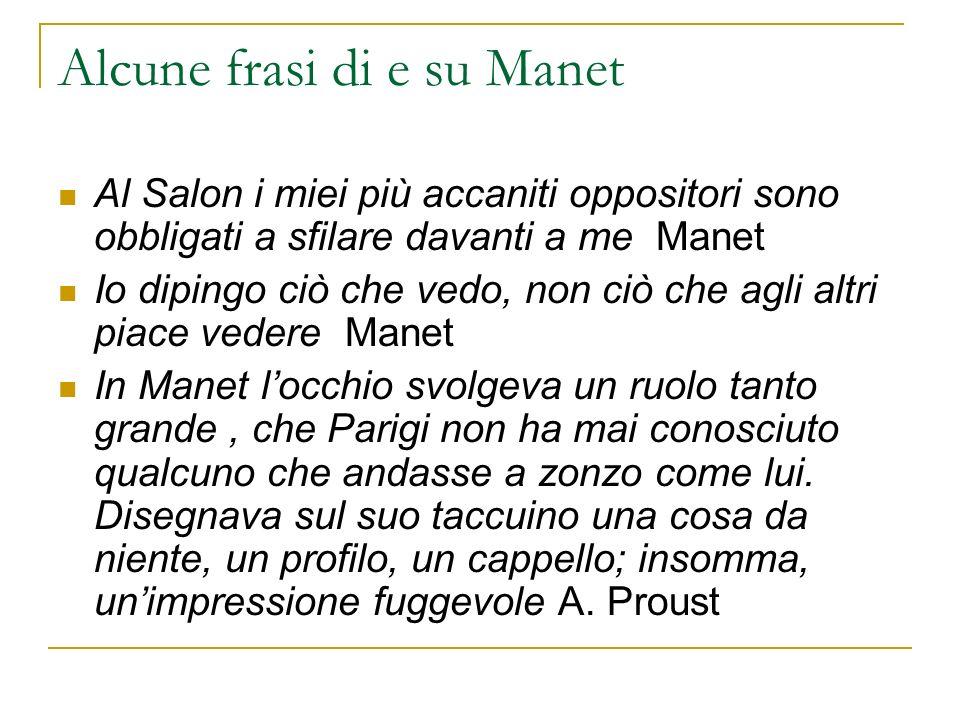 Alcune frasi di e su Manet