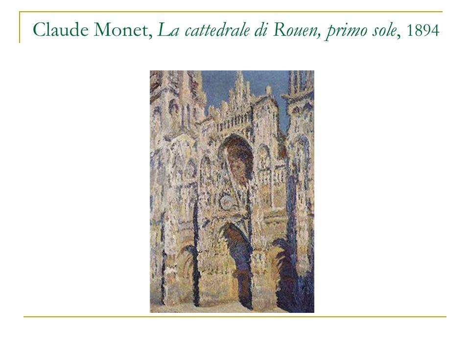 Claude Monet, La cattedrale di Rouen, primo sole, 1894