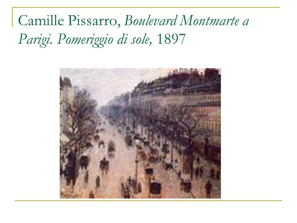 Camille Pissarro, Boulevard Montmarte a Parigi